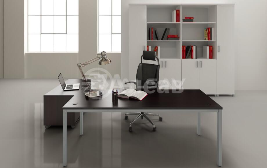 офисная мебель производитель, кабинет руководителя, столы для переговоров,столы на металлокаркасе, AVANCE, Аванс, венге