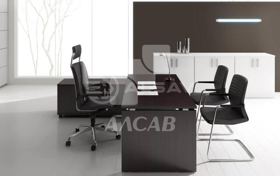 офисная мебель производитель, кабинет руководителя, столы для переговоров, AVANCE, Аванс, венге