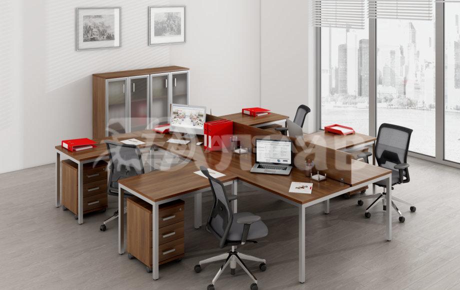 офисные перегородки, мебель для персонала, офисная мебель производитель, AVANCE, Аванс, шимани темный