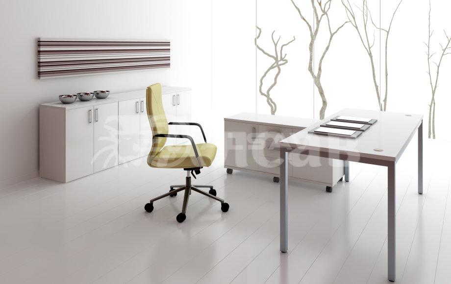 офисная мебель производитель, кабинет руководителя, столы для переговоров,столы на металлокаркасе, AVANCE, Аванс, шимани светлый