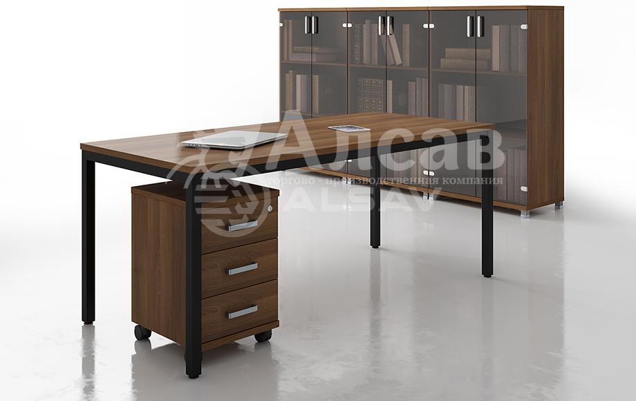 Металлокаркас серии Avance в новых декорах - черный. Офисные перегородки, мебель для персонала, офисная мебель производитель, столы на металлокаркасе, бенч-система, бенч столы, AVANCE, Аванс, шимани темный